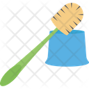 Bathroom Broom Cleaner Cleaning Pipe Icon