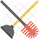 Toilet Cleaner Plunger Icon