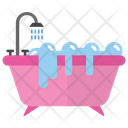 Bathroom Tub Shower Tub Bath Shower Icon