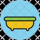 Bathtub Shower Bathroom Icon
