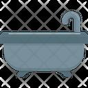 Bathtub Shower Bath Icon
