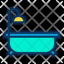 Bathing Tub Shower Tub Shower Icon