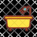 Bathtub Bathing Shower Icon