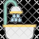 Shower Tub Bath Bathtub Icon