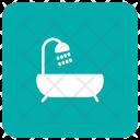 Bath Shower Tub Icon