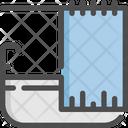 Bathtub Hotel Service Icon