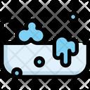 Bathtub Cleaning Clean Icon