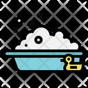 Bathtub Bathroom Baby Icon