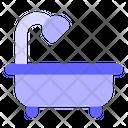 Bathtub Shower Tub Icon