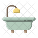 Household Bathtub Bath Icon