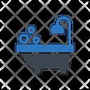 Bath Tub Washroom Icon