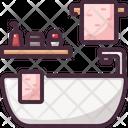 Bath Bathtub Icon