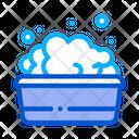 Bath Foamy Water Icon
