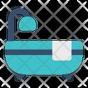 Bathtub Bathroom Shower Icon