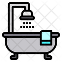 Bathtub Bathroom Hotel Icon
