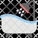 Shower Tub Bath Icon