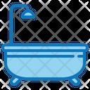 Bathtub Bath Bathroom Icon