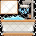 Bathtub Bath Shower Icon