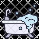Bathtub Bathroom Modern Icon