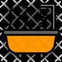 Bathtube Bath Shower Icon