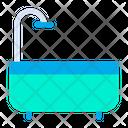 Bathroom Shower Tub Icon