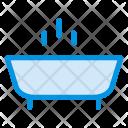 Bathtub Shower Water Icon