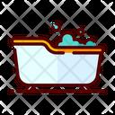 Bathup Bathtub Bathtub Foam Icon