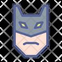 Superhero Mask Character Icon