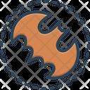 Batman Bat Horror Icon