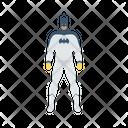 Batman Power Man Super Hero Icon