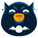 Batman Emoji Face Icon