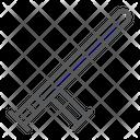 Police Baton Guard Icon