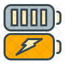 Batteries Battery Charge Icon