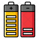 Batteries Battery Cells Electric Icon