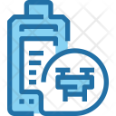 Drone Battery Technology Icon