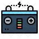 Battery Power Car Icon