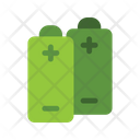Battery Ecological Battery Natural Electricity Icon