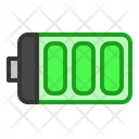 Battery Energy Ecology Icon