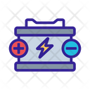 Battery Element Car Icon