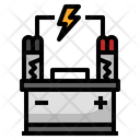 Battery Car Car Parts Icon