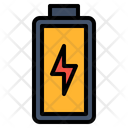 Battery Ecology Electric Icon