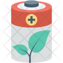 Battery Cell Ecology Icon