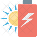 Battery Charging Power Icon