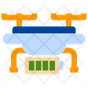 Battery Drone Quadcopter Icon