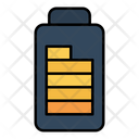Battery Charging Electric Icon