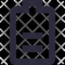 Battery Level Status Icon