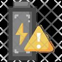Battery Alert Charging Alert Battery Warning Icon