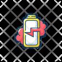 Battery Breaking Battery Breaking Icon