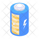 Battery Cell Power Battery Rechargeable Cell Icon