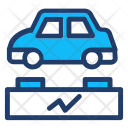 Battery Car Vehicle Icon